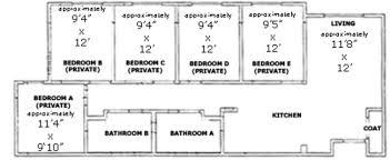 Cal Poly Cerro Vista Floor Plans by Poly Canyon Village Housing San Luis Obispo Ca Apartment Finder