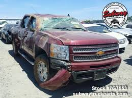 Used Parts 2013 Chevrolet Silverado 1500 LTZ 5.3L 4x4 | Subway Truck ...