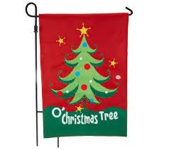 Fiber Optic Rotating Tabletop Christmas Tree by Fiber Optic Holiday Musical Flag W Motion Sensor By Evergreen
