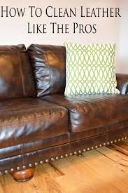 Leather Cleaning Couch Clean Sofa With Saddle Soap How To