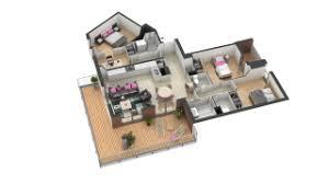 appartement 4 chambres visite 3d de l appartement neuf aa44 en vente projet immobilier
