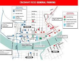 Cincinnati Parking Map