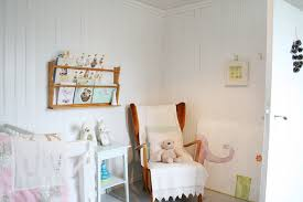 Hanging Bookshelf Nursery Scandinavian With Beadboard Book Rack Bookshelves Painted Wood Wall Decor White Floor