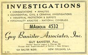 File:Guy Bannister 1959 Advertisement.png - Wikimedia Commons Guy Banister The Fbi New Orleans And Jfk Aassination Ebook Hersquos A Roundup Of Some Conspiracies Surrounding Former Nead President Thomas Dies Rangers Bank On Jeff Banisters Neverquit Way Life Fort Las Ideas De Fidel Castro Un Progonista De La Cris Misiles Papiermch Patriots How Historical Heroes Turn Up As Trojan Cia Over Jfks Assination Business Insider 55 Best Mobs_new Images Pinterest Gangsters Mobsters The Oswald Files What American Intelligence Knew About Kennedys Ruth Typewriter 15 Days Page 5 Debate Ronnie Christopher Walken Headshot 1953