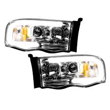 Clear Chrome Truck LED Halo Headlights | Dodge Ram 02-05 | RECON ... Diode Dynamics Dd2015 Dodge Ram Daytime Running Light Switchback Body Painted Headlights Trucks Pinterest Rams 9401 Ram 1500 2500 3500 Oem Style Crystal Chrome 2009 14 Quad Halo Install Package 2010 Reviews And Rating Motor Trend Smoked Black Projector 0609 Recon Lumen Sb7697hlchr 7x6 Rectangular Led Fit 092018 1018 Headlight Doorsbezels Mopar Upgrades Anzo Truckin 15 06 For 2018 Saintmichaelsnaugatuckcom Ubar 62008