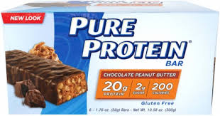 Pure Protein Bars By At Bodybuilding