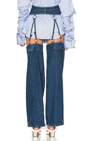 these detachable jeans look like riding chaps and cost nearly 600