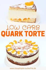 low carb quark torte
