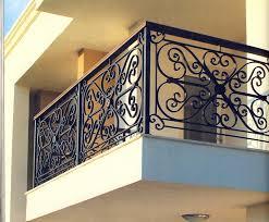 garde corps en fer forgé maxence garde corps escalier balcon en