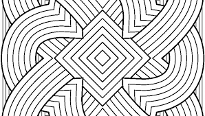 Amazing Shapes Coloring Pages Hard For Adults