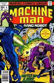 Machine Man 1978 1st Series 4