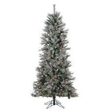 Mountain King Christmas Trees 9ft by Flocked Christmas Trees You U0027ll Love Wayfair