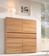 highboard esszimmerschrank wohnzimmer kernbuche massiv geölt lanatura