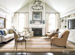 Magazine Living Room Ideas Contemporary Cream Family With Vaulted Ceiling The Luxury Home Southern