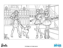 Barbie And The Movie Director Takes Sequin For A Walk Printable