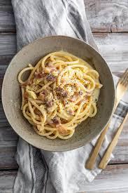 original italienische spaghetti carbonara