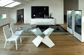 Inspiring Modern Dining Room Tables With Table Bases Trellischicago