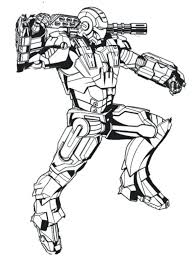 War Machine Printable Coloring Pages Lego Iron Man Print Armor Marvel