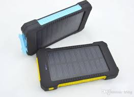 mah Solar Charger 2 Usb Port Solar Power Bank Charger
