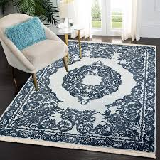 waschbarer teppich für wohnzimmer küche flur teppichläufer modern versch größen blue