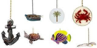 best beach ceiling fan pull chain ornaments beachfront decor