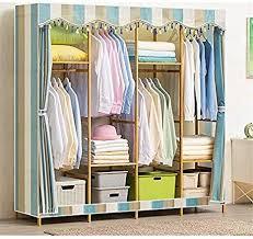 yyzz diy kleiderschrank groß holz schlafzimmer tragbar