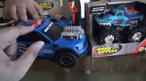 Road Rippers Collection Monster-Trucks With Farhan - YouTube Honda Civic 2012 Si Like Pinterest Civic Details Zu Matchbox 13 13d Dodge Wreck Truck Police Tow Hot Wheels 2018 70th Anniversary Set Ebay 2016 Ford F750 Tonka Dump Truck Brings Popular Toy To Life 2015 Hess Fire And Ladder Rescue On Sale Nov 1 Unboxing Toys Reviewdemos Fast Furious Remote Control Silver Custom Escort Wagon Diecast Customs 164 Scale Amazoncom S2000 Exclusive 1997 State Road Rippers Scratch It Sound Light Pickup Cars Trucks Amazoncouk
