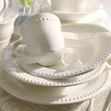 Shop White Pottery Dinnerware on Wanelo