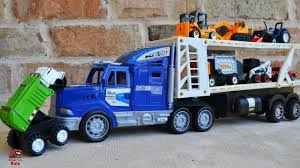 Garbage Truck Videos For Children L Grouchy The Truck Vs ... Cstruction Trucks Toys For Children Tractor Dump Excavators Truck Videos Rc Trailer Truckmounted Concrete Pump K53h Cifa Spa Garbage L Crane Flatbed Bulldozer Launches Ferry Excavator Working Tunes 1 Full Video 36 Mins Of Truck Videos For Kids Vehicles Equipment The Kids Picture This Little Adorable Road Worker Rides His Tonka Toy Tow And Toddlers 5018 Bulldozers Vs Scrapers