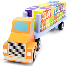 Amazon.com: Alpha Block Cargo Truck With 28 Colorful Wooden ABC ... Dump Truck Alphabet Abc Kids With Trucks Youtube Letters Titu Preschool Learning Alphabet Abcs For Kids With Truck Jj Richards Garbage Passes Song Fire Songs For Nursery Rhymes Garbage Trash Truck Hard At Work For Kids Mrbigtrucks101 Video Vz4kids First Words And Things That Go Learn The Print Transportation Poster Fun Friends At Storytime Dont Throw Your Trash In My Backyard Shapes Super Teaching Colors Basic