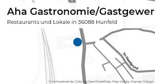 aha gastronomie gastgewerbe niedertor in hünfeld