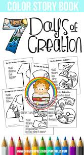 Free Days Of Creation Bible Coloring Pages Thecraftyclassroom