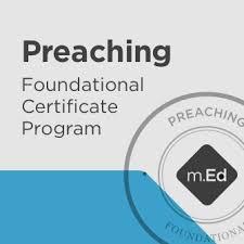 Preaching Foundational Certificate Program