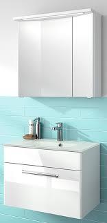 pelipal trentino badmöbel set glas waschtisch 5 spiegelschrank varianten b 77cm