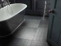 impressive grey hexagon floor tiles houzz search bathroom