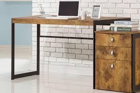 Under Desk File Cabinet by Computer Desk Industrial With Metal Frame