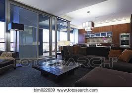 luxus wohnzimmer stock foto blm022639 fotosearch