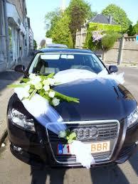 décoration voiture pour mariage le jardin d yvan