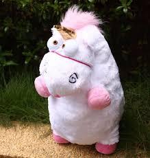 60CM Fluffy Unicorn Horse Minions Stuffed Plush Animals Toys