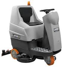 comfort xs r ride on floor scrubber drier lavorpro youtube