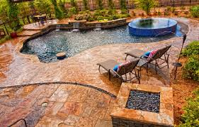 100 Concrete Patio Floor Ideas Patio Design With by Concrete Stamped With A Slate Skin Pattern In Pool Deck How To