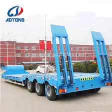 100 How Wide Is A Semi Truck 34 Xles 80100 Ton Lowbed Trailer With Dolly For Sale