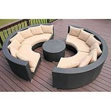 Outdoor Sectional Sofa Canada by 15 Remarkable Round Patio Furniture Snapshot Inspiration Home