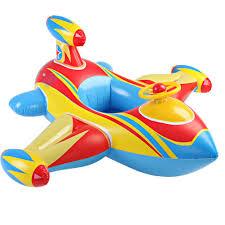 Inflatable Tubes For Toddlers by Air Plane Floats Kids Swimming Floats With Steering Wheel Amazon