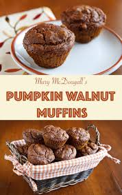 Vegan Pumpkin Muffins Applesauce by Mary Mcdougall U0027s Pumpkin Walnut Muffins Recipe From Fatfree