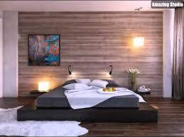 schwarz bett plattform holz clad schlafzimmer wand