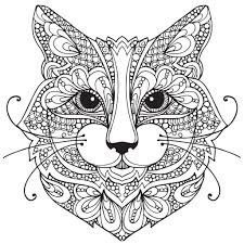 Best Of Adult Coloring Pages Cat 1 Pinterest Kitten Free