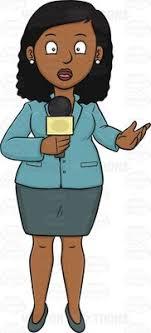 Showing Post Media For Black Female Journalist Cartoon