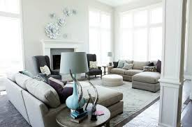 Purple Grey And Turquoise Living Room by Gray And Turquoise Blue Living Rooms Transitional Living Room