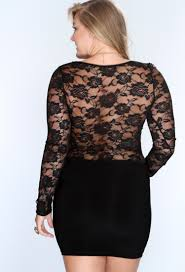 women slim shift long sleeve plus size lace dress xl 2x 3xl 4xl